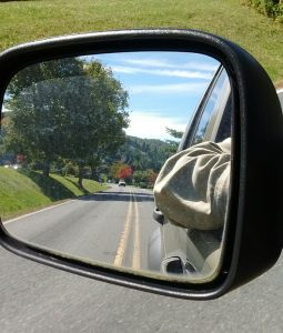 My rear-view mirror, where I'd like to see Campaign 2016
