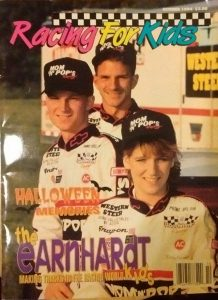 (from left) Dale Jr., Kerry and Kelley Earnhardt
