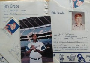 Letter from my hero, Hank Aaron