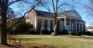 The Morganton-Burke Public Library in my hometown